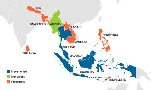 Fully deployment with no objection from respective Central Bank in 3 countries - Malaysia, Thailand and Indonesia.