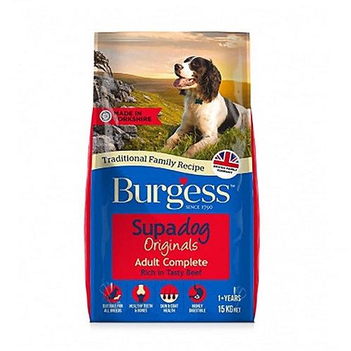 Burgess Supadog Beef 15kg