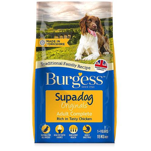 Burgess Supadog Chicken 15kg