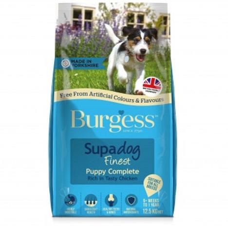 Burgess Supadog Puppy 12.5kg