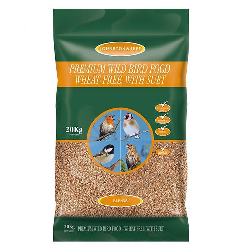 Johnston & Jeff Premium Wild Bird Seed 20kg