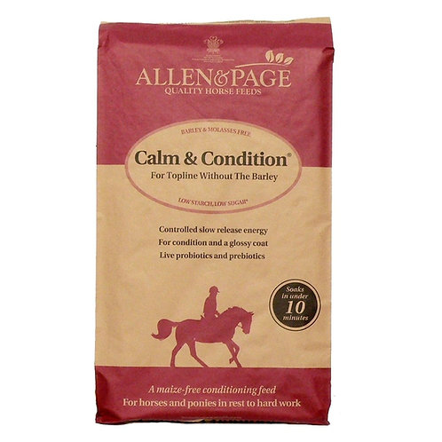 Allen & Page Calm & Condition Horse Feed 20 kg