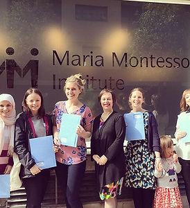 Congratulations to Anda, Esma, Kim, Mari