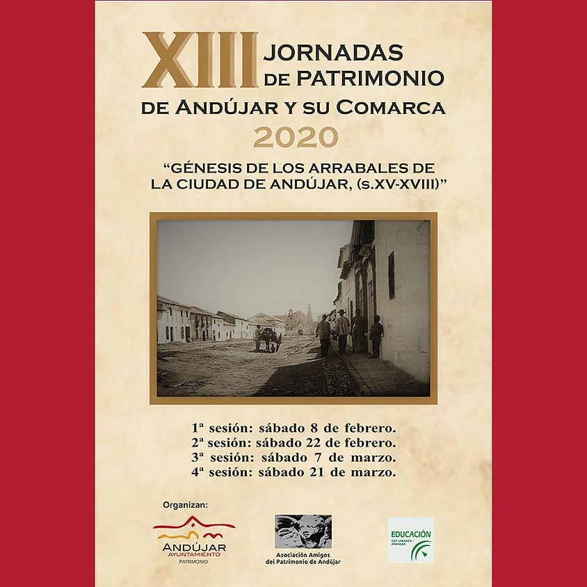 XIII Jornadas de Patrimonio de Andújar y su Comarca 2020