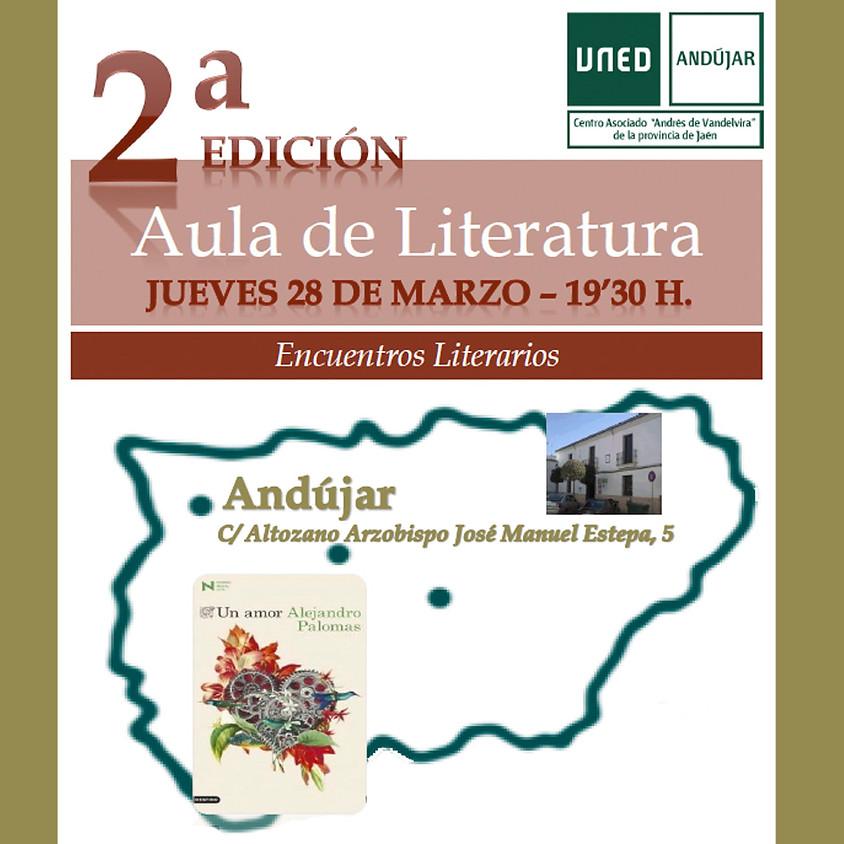 Encuentro Literario con Alejandro Palomas