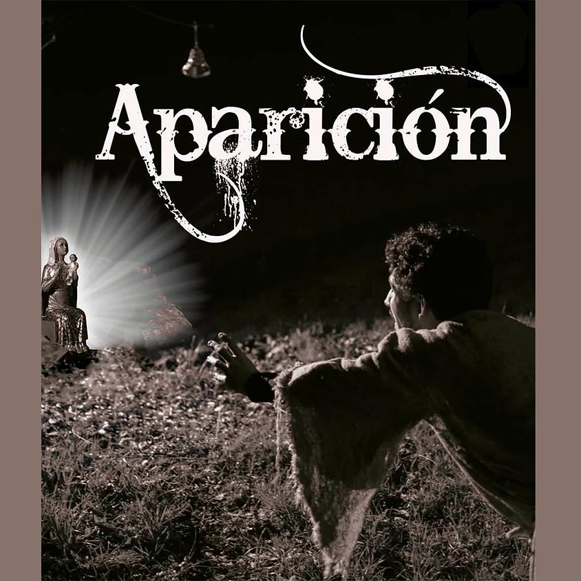 "Representación teatral ""Aparición"""