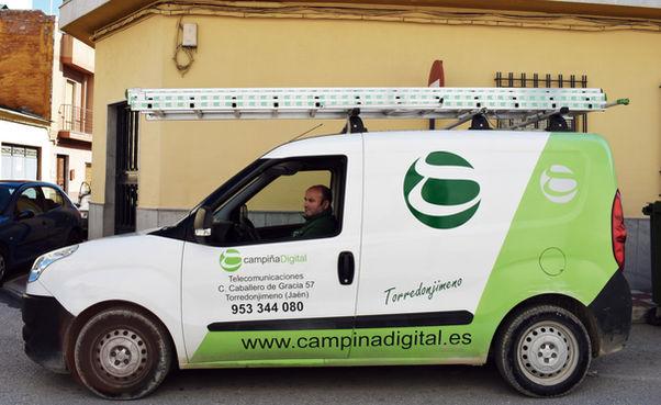 Vehículo de Campiña Digital