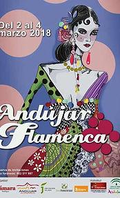 Cartel Andújar Flamenca 2018