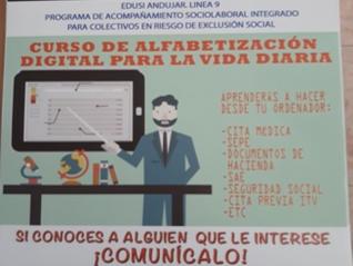Taller de Alfabetización digital para la vida diaria