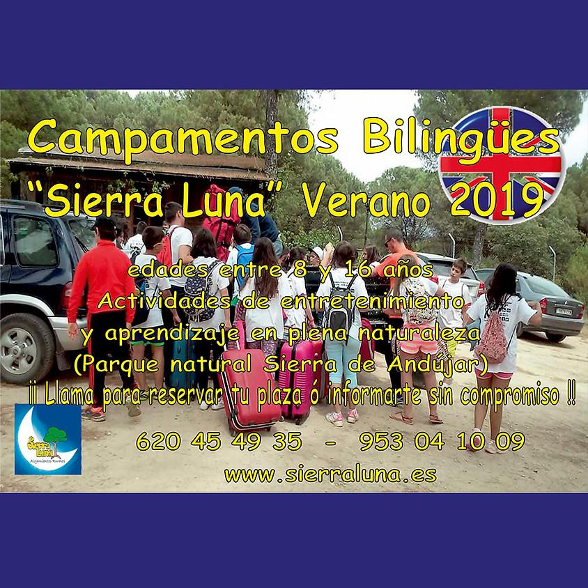 "Campamentos Bilingues ""Sierra Luna"""