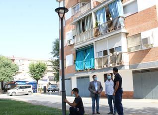 El Ayuntamiento de Andújar prosigue con la mejora energética con la renovación de luminarias en dist