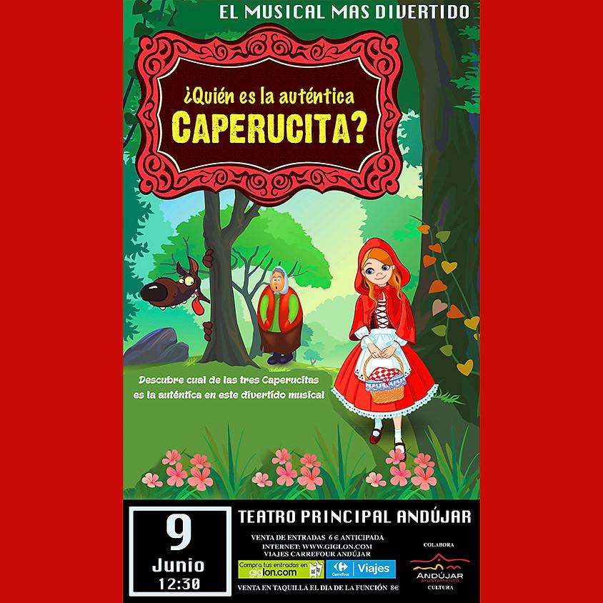 """El Musical """"¿Quién es la auténtica Caperucita?"""""""