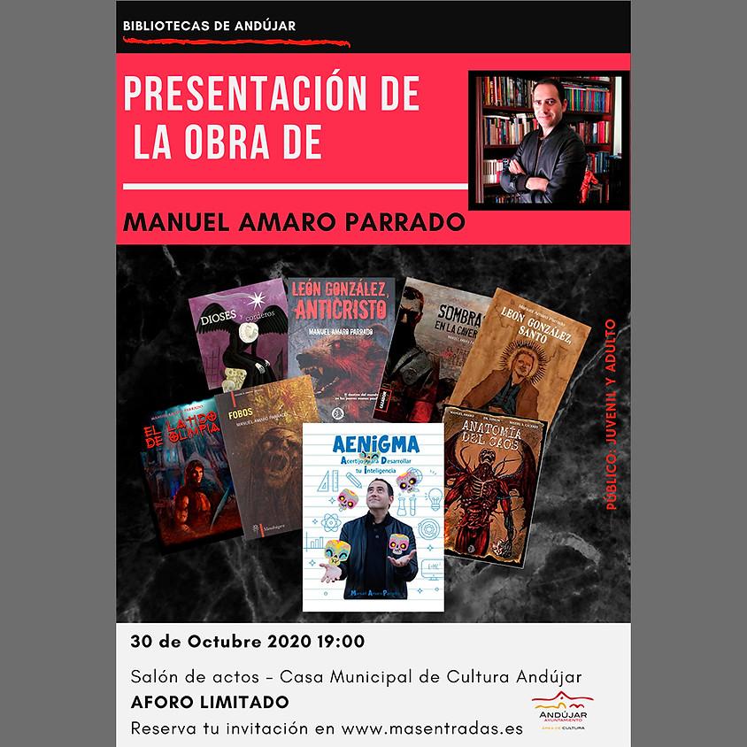 Presentación de la obra de Manuel Amaro Parrado