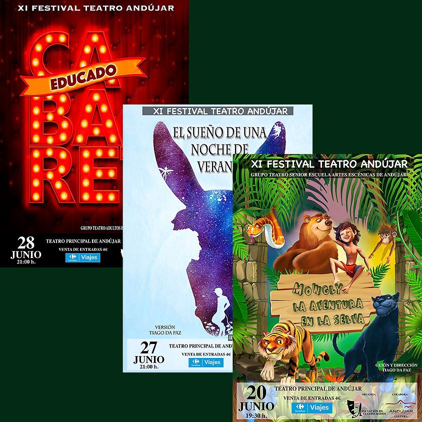 XI Festival de teatro en Andújar