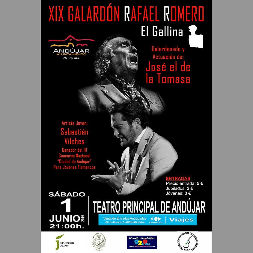 XIX Galardón Rafael Romero