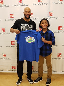 Muscical Sensation and Emmy Winning Artist Common