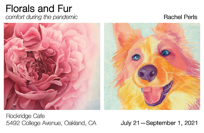 art opening images of flower and dog