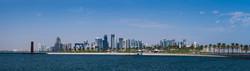 Qatar Skyline Panorama