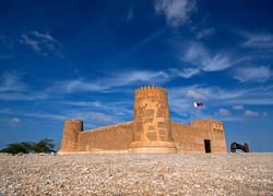 Zubara fort Qatar