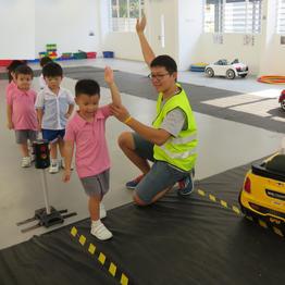 Life Skills - Little Traffic Marshallers