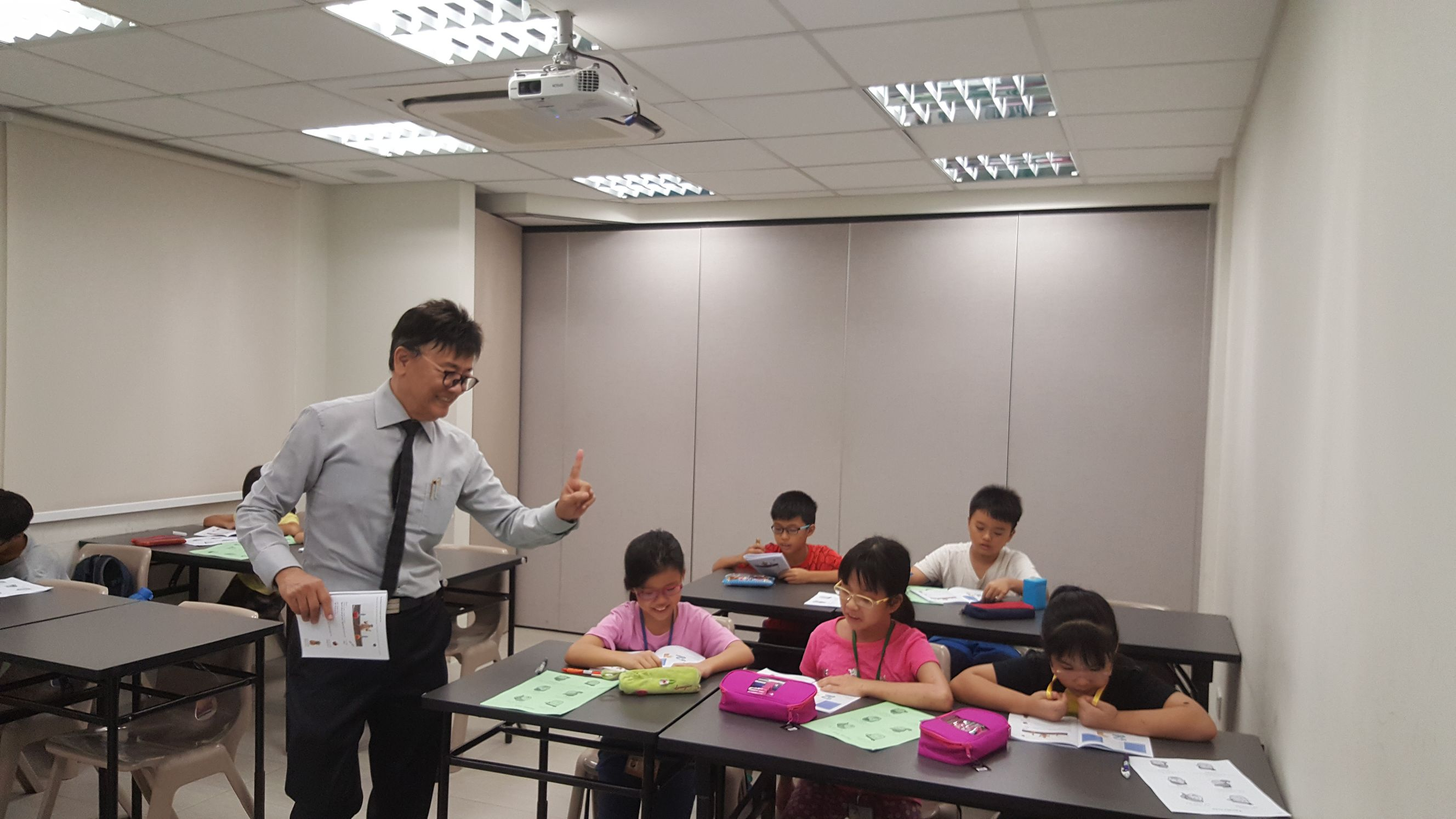 Children Hokkien class