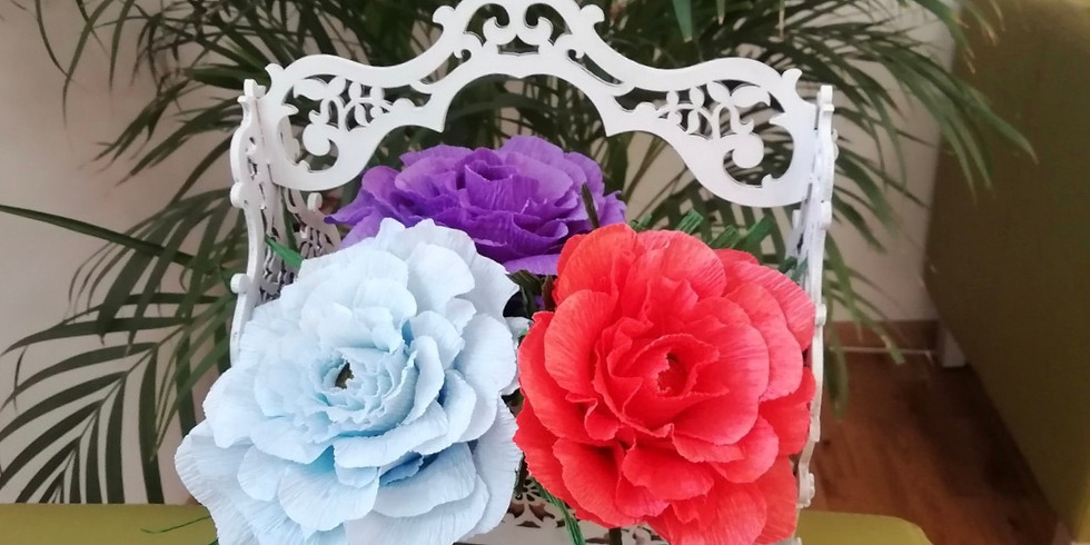 МК Корзинка с цветами