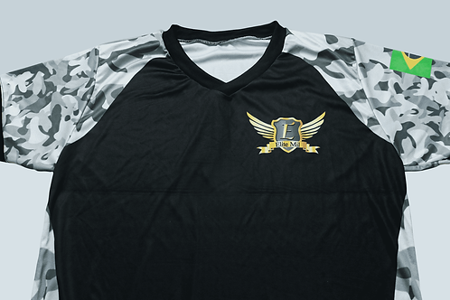 Camisa Elite Mil Dry Fit - Camuflagem Urbana