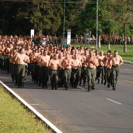 Você está preparado fisicamente para a carreira militar?
