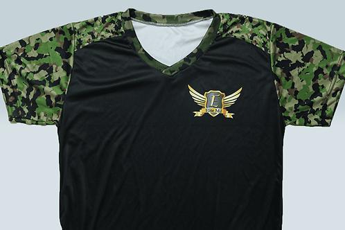 Camisa Elite Mil Dry Fit - Camuflagem Verde (modelo 2)