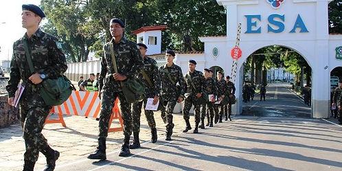 A EsSA é o berço de formação dos futuros sargentos combatentes do Exército.