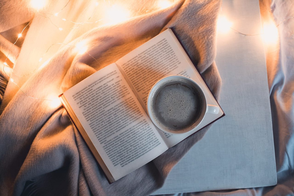 coffee while reading