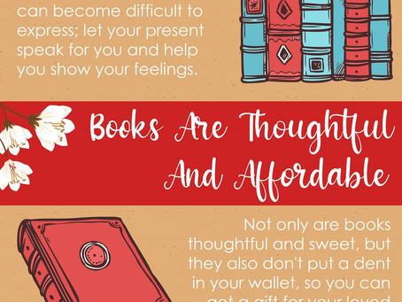 3 Reasons Why Books Are The Perfect Valentine's Day Present | Infographic