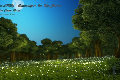 Somewhere In The Forest (Night) - Commercial License
