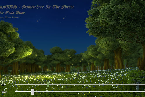Somewhere In The Forest (Dawn) - Commercial License