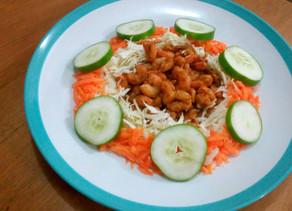 GOT SHRIMPS? TRY MY SIMPLE JAZZY SHRIMP SALAD RECIPE