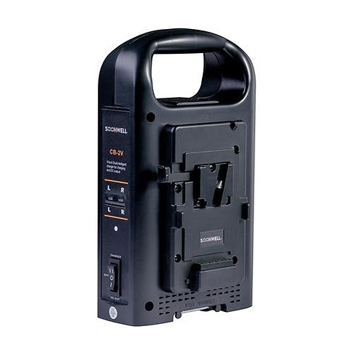 SOONWELL CB-2V Dual Channel Charger V Mount