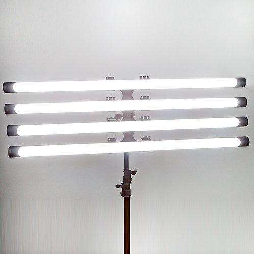 SENSEI RGB LED Tube 4-Light Kit 4ft 200W for Professional Lighting Scene