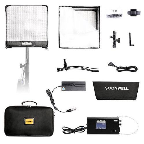 SOONWELL FB-11 (1x1 ft) Flex Bi-Color LED Light