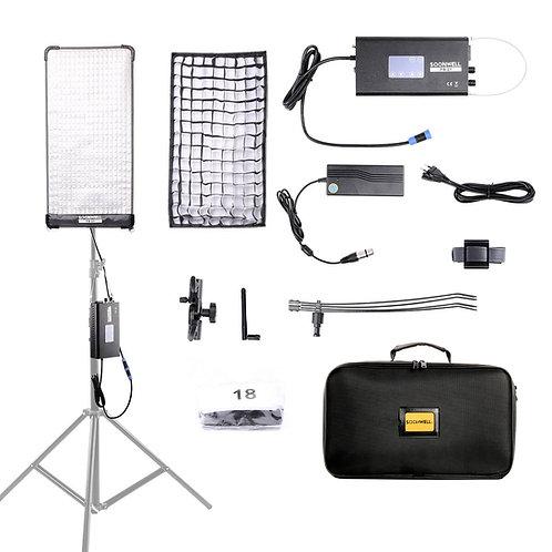 SOONWELL FB-21 (2x1 ft) Flex Bi-Color LED Light