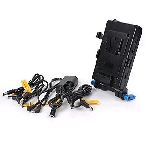 V Lock Mounting Plate Power Supply Splitter