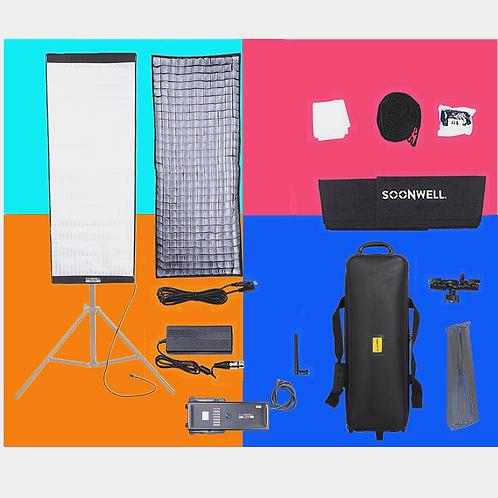 SOONWELL FR-415 (4x1.5 ft) Flex RGB Color LED Light