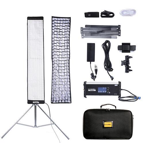 SOONWELL FB-408 (4x0.8 ft) Flex Bi-Color LED Light