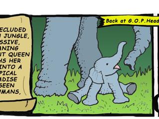 GOP & Elephants: Bad Mix