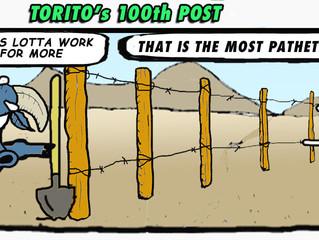 Torito's 100th post