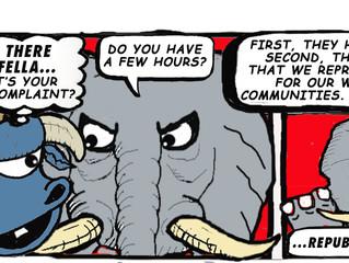 Jeesh! Republicans even hate peanuts!