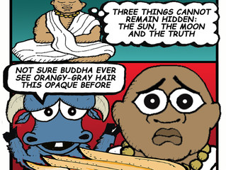 BUDDHA BITES THE DUST
