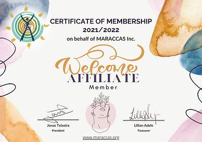 MARACCAS Certificate of Membership - Affiliate Member.png
