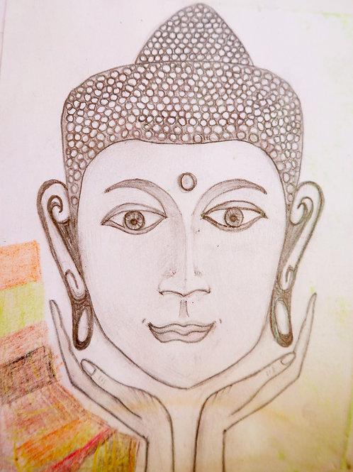 Buddha Head - A2