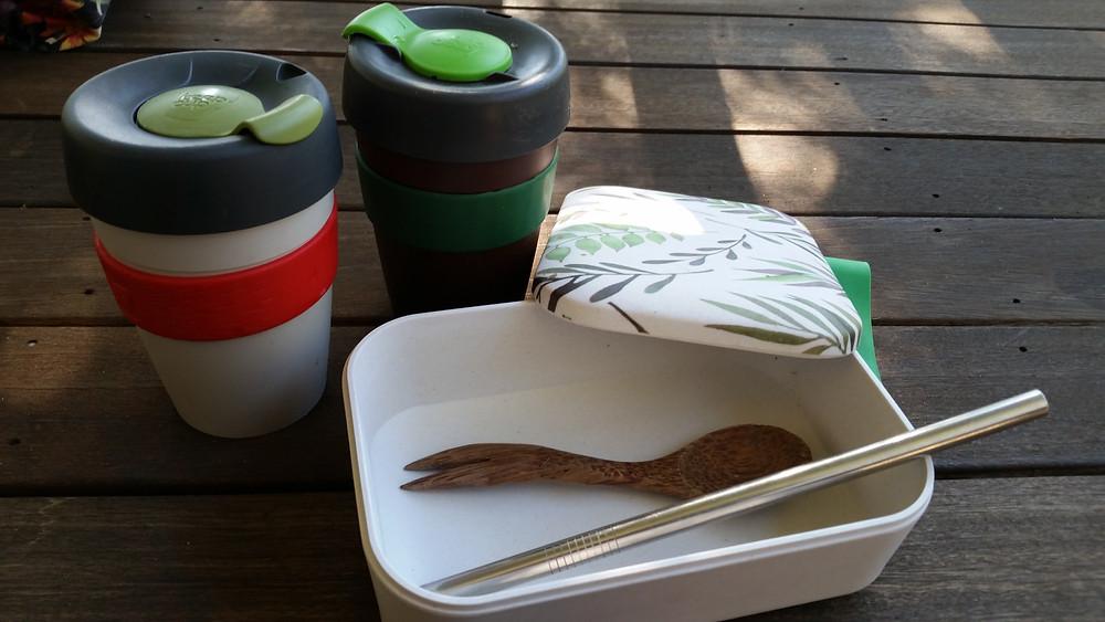 Keep Cups Reusable Utensils