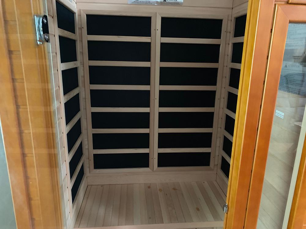 DYNAMIC SAUNAS AMZ-DYN-6106-01 Barcelona 1-2 Person Far Infrared Sauna - assembly part 3